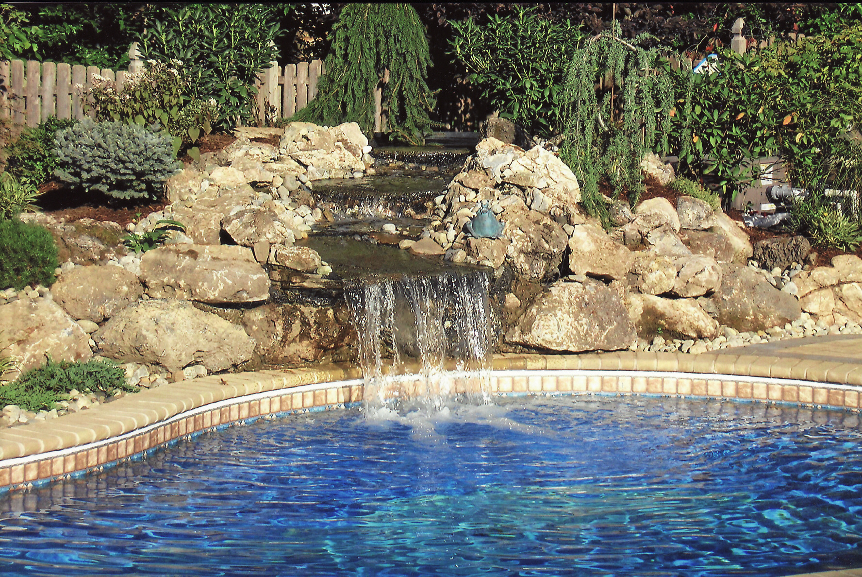 Services for Pool waterfall